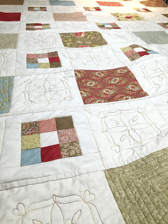 Autumn Lily Layer Cake Quilt Perfectly4med Artist At Workperfectly4med Artist At Work